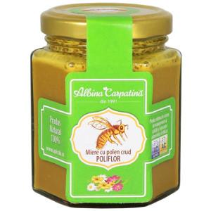 Miere cu polen crud poliflor - 230 g