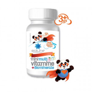 Mini Multivitamine cu Biominerale - 30 cps
