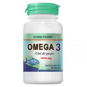 Omega 3 Ulei de peste 1005mg - 30 cps