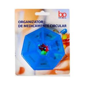 Organizator de medicamente circular