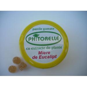 Pastile gumate cu miere de eucalipt - 50 g