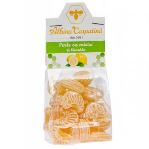 Perle cu miere si lamaie - 100 g