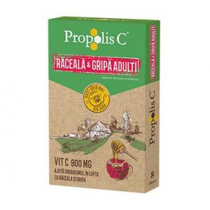 Propolis C Raceala & Gripa Adulti - 8 dz