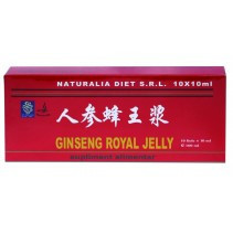 Royal Jelly si Ginseng - 10 fiole