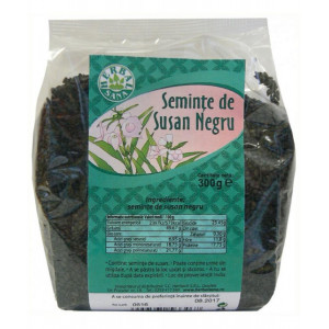 Seminte de susan negru - 300 g Herbavit