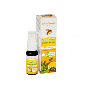 Spray de gura propolis respiratie proaspata fara alcool - 20 ml