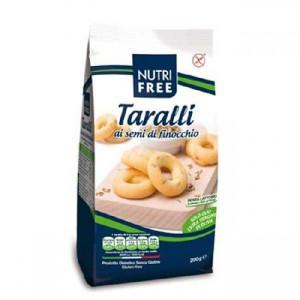 Taralli Covrigei cu seminte de fenicul - 200 g - NutriFree