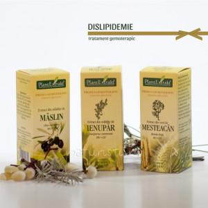 Tratament naturist - Dislipidemie (pachet)