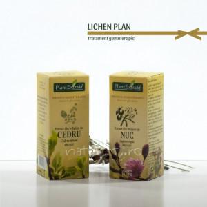Tratament naturist - Lichen plan (pachet)
