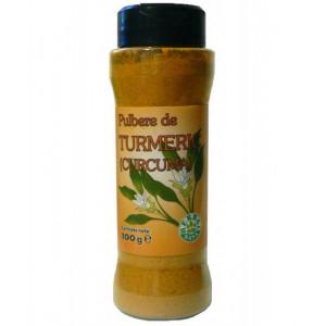 Turmeric pulbere - 100 g flacon Herbavit