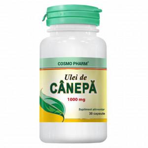 Ulei de canepa 1000 mg - 30 cps