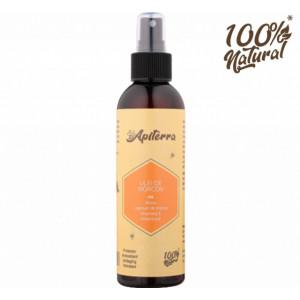 Ulei de morcov cu miere, laptisor de matca, vitamina C si E Apiterra - 200 ml