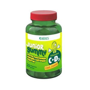 Vitamina C + D3 Junior Gummy - 20 cpr gumate