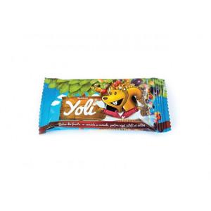 YOLI - Baton din fructe, cu seminte si cereale pentru copii - Cutie 24 batoane