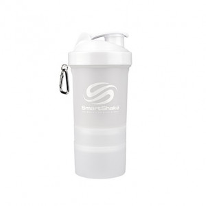 Shaker SmartShake slim alb 500 ml