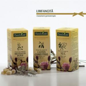 Tratament naturist - Limfangita (pachet)