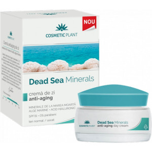 Crema de zi anti-aging Dead Sea Minerals - 50 ml