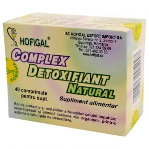 Complex detoxifiant natural - 40 cpr Hofigal
