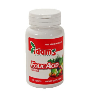 Acid Folic 400 mcg - 120 cps