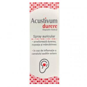Acustivum spray auricular durere - 20 ml