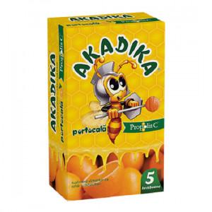 Akadika Propolis C Portocala - 5 acadele