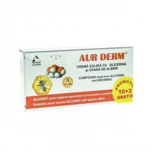 Aur Derm Supozitoare Glicerina 1,5*10+2 Gratis