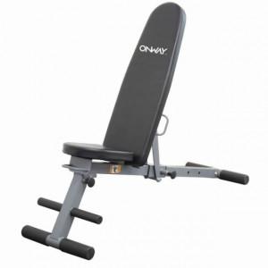 Banca fitness pliabila si reglabila in 5 pozitii, OnWay Fitness