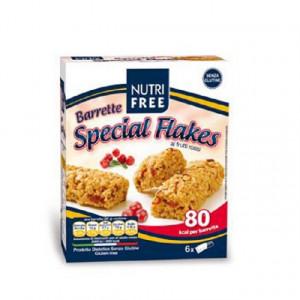 Batoane Special Flakes cu fructe - 120g (6X20G) - NutriFree