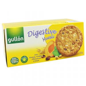 Biscuiti digestivi cu muesli, ovaz, stafide si caise - 230 g