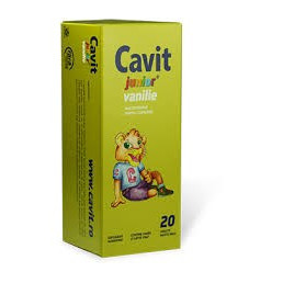 Cavit Junior Vanilie - 20 cpr