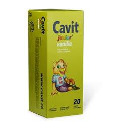 Cavit Junior Vanilie - 20 cpr