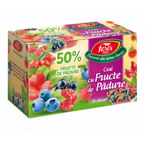 Ceai cu fructe de padure 50% - 20 plicuri