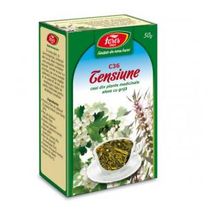 Ceai pentru Tensiune C36 - 50 gr Fares