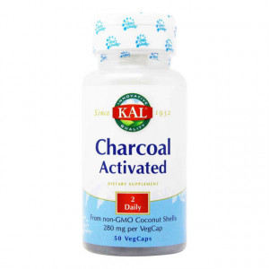 Charcoal Activated 280 mg - 50 cps