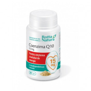 Coenzima Q10 15 mg - 30 cps