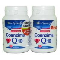 Coenzima Q10 30 mg - 30 cps 1+1 Gratis Bio Synergie