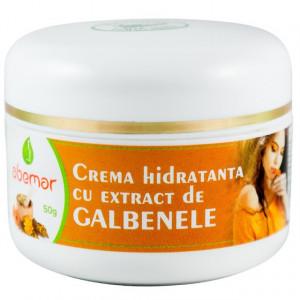 Crema hidratanta cu galbenele - 50 g