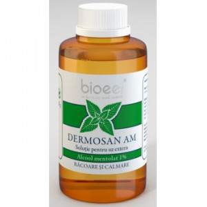 Dermosan AM alcool mentolat 1%- 80 gr Bioeel