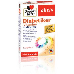 Doppelherz aktiv Diabetiker Vitamine + Minerale - 30 cpr