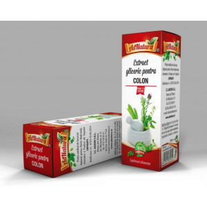 Extract Gliceric pentru Colon - 50 ml