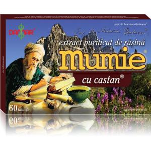 Extract purificat de rasina Mumie cu castan - 60 tbl