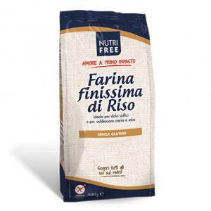 Farina Di Riso Finissima - Faina de Orez Extrafin - 500 g - Nutrifree