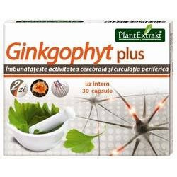 Ginkgophyt plus 30 cps