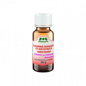 Glicerina Boraxata cu Nistatina si Anestezina - 20 g