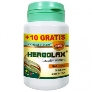 Herbolax - 30 cpr + 10 cpr GRATIS