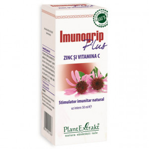 Imunogrip Plus - cu zinc si vitamina C - 50 ml