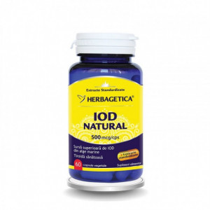 Iod natural - 60 cps