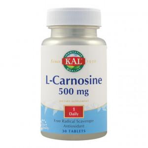 L-Carnosina 500mg - 30 cps