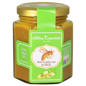 Miere cu polen crud de salcie - 230 g