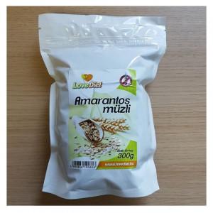 Mussli fara gluten cu amarant  - 300 g LoveDiet